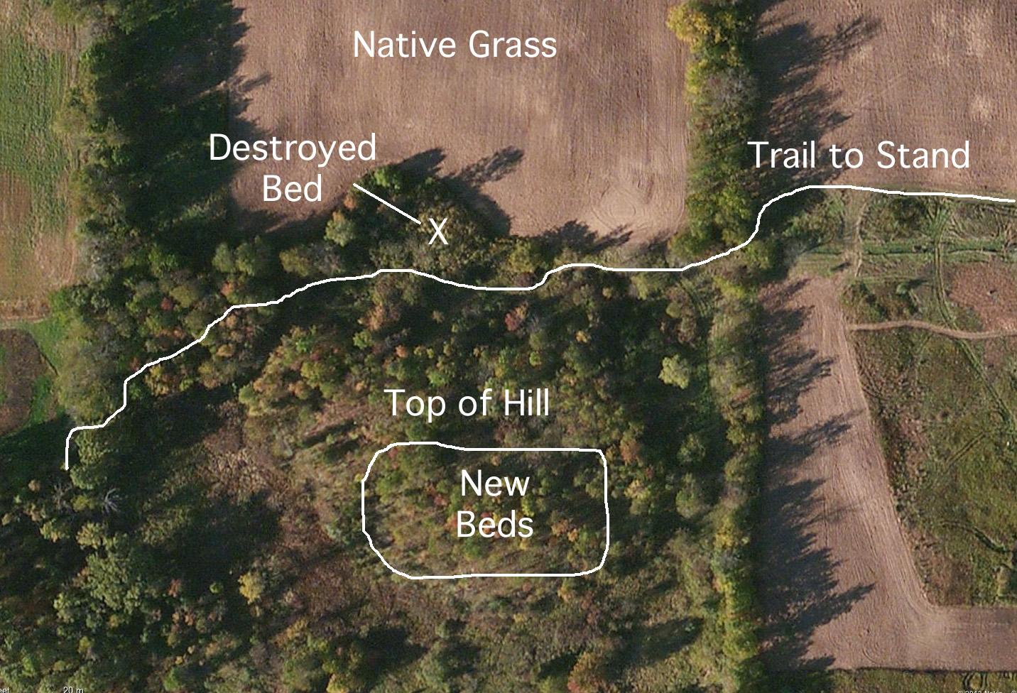destroyed bed aerial edited 1 I destroy a Buck Bed!