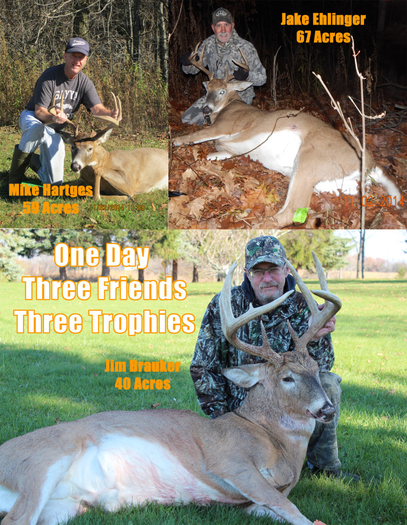 mike jim jake sized 795x1024 Self Video: 3 Friends, 3 Trophy Bucks, 3 Small Properties: All on the Same Day